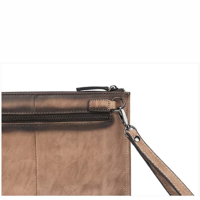 Túi da cầm tay cao cấp Gento G184