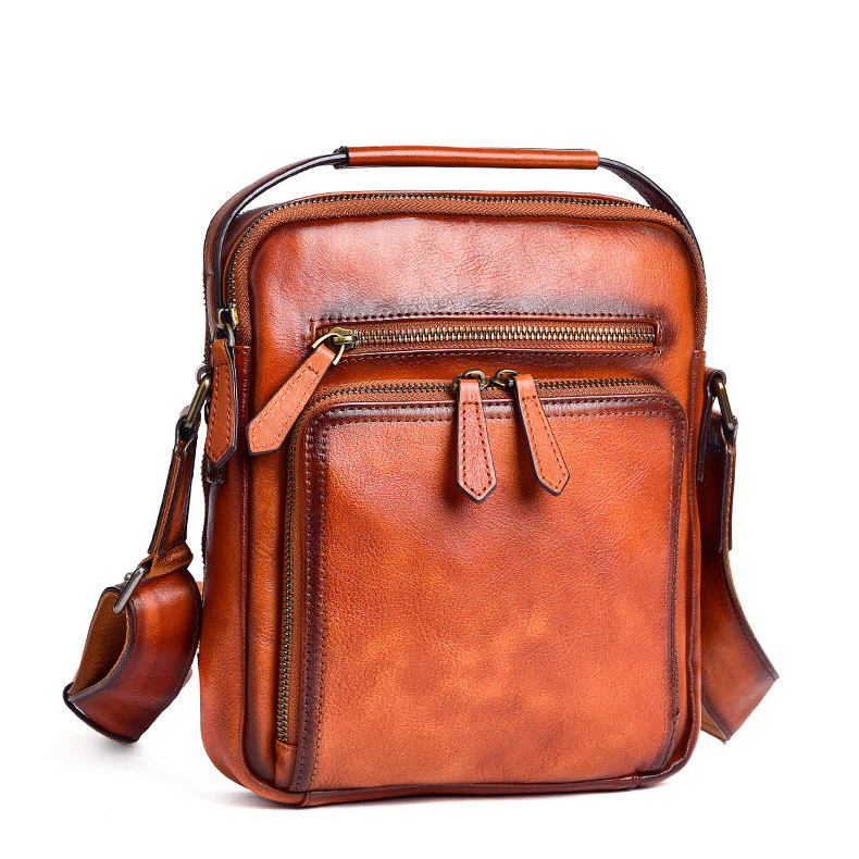 Túi đeo chéo da thật Gento 170