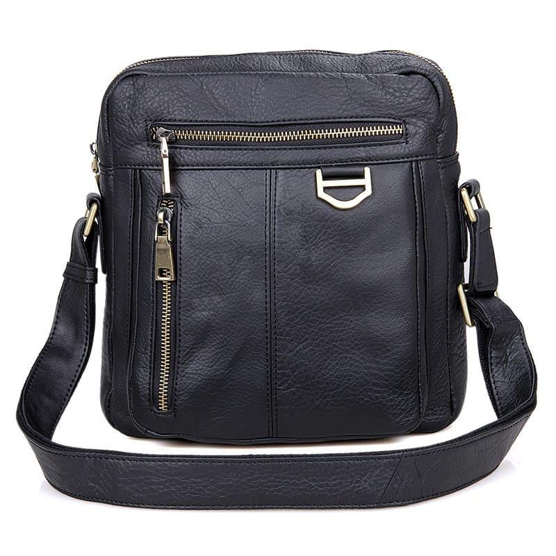 Túi đeo chéo da thật cao cấp Gento 178