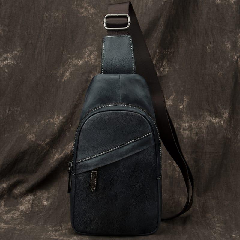 Túi da đeo chéo sling bag da bò G155