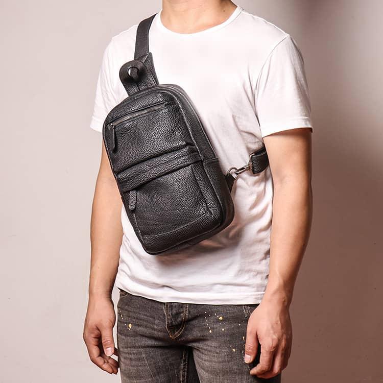 Túi đeo chéo trước ngực Gento 157