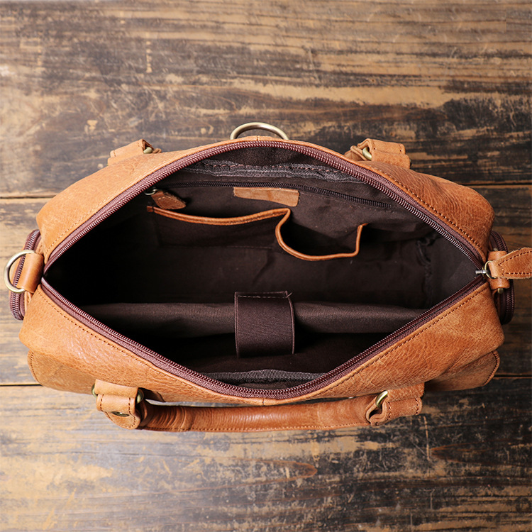 Cặp túi da thật cao cấp Gento G231